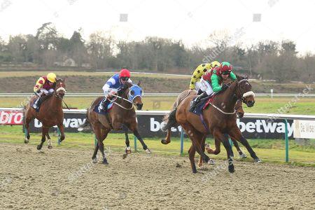 SHYRON ridden by Robert Winston 1st The Sun Racing Handicap Stakes at Lingfield Copyright: Ian Headington/racingfotos.com