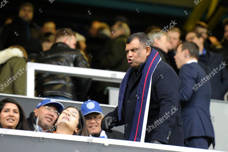 Queens Park Rangers chairman Tony Fernandes prior to the Sky Bet League Championship match between Queens Park Rangers and Preston North End at Loftus Road in London, UK - 19th January 2019