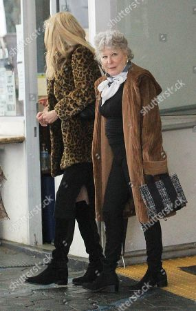 Bette Midler and Alana Stewart out and about, Los Angeles