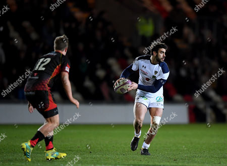 Stock Picture of Pato Fernandez of Clermont Auvergne in action