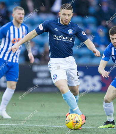 Editorial image of Kilmarnock v Forfar, William Hill Scottish Cup Fourth Round, Football, Rugby Park, Kilmarnock, Edinburgh, Scotland, UK - 19 Jan 2019