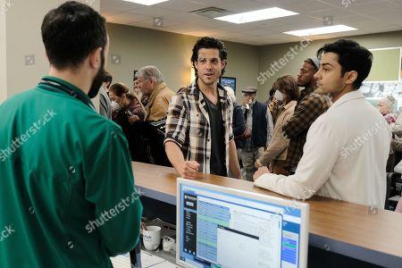 Miles Gaston Villanueva as Dr. Alec Shaw and Manish Dayal as Devon Pravesh