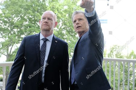 Stock Picture of Glenn Morshower as Marshall Winthrop and Bruce Greenwood as Randolph Bell
