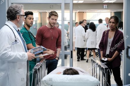 Paul Schackman as Dr. Todd Eckart, Manish Dayal as Devon Pravesh, Matt Czuchry as Conrad Hawkins and Daniella Alonso as Zoey Barnett