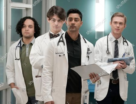 Ian Gregg as Mason Buck, Jordan Patrick as Justin Arkman, Manish Dayal as Devon Pravesh and Joshua Brady as Aaron Holt