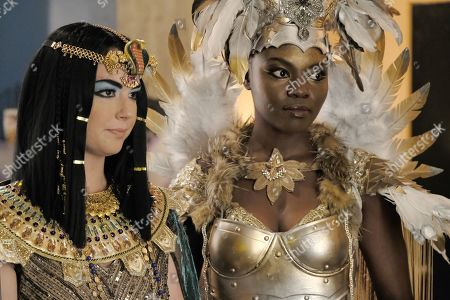 Emily VanCamp as Nicolette Nevin and Shaunette Renee Wilson as Mina Okafor