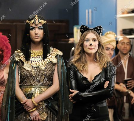 Emily VanCamp as Nicolette Nevin and Julianna Guill as Jessie Nevin