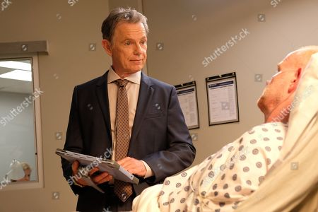 Stock Image of Bruce Greenwood as Randolph Bell and Glenn Morshower as Marshall Winthrop