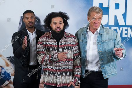 'Creed II' film photocall, Madrid