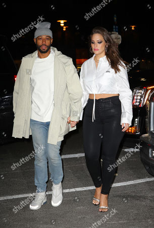 Editorial photo of Ashley Graham and Justin Ervin out and about, New York, USA - 17 Jan 2019