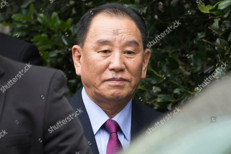 North Korea's Vice-Chairman of the Central Committee of the Workers' Party of Korea for South Korean affairs, Kim Yong Chol, departs a hotel after participating in a meeting there with US Secretary of State Mike Pompeo (unseen), in Washington, DC, USA, 18 January 2019. One of North Korea's top negotiators, Kim Yong Chol visits Washington carrying a letter from Kim Jong-un for US President Donald J. Trump, according to South Korean media reports. Speculation regarding a possible second summit between the two nations is that it could be held in Vietnam.