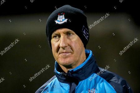 Dublin vs Westmeath. Dublin manager Paul Clarke before the game