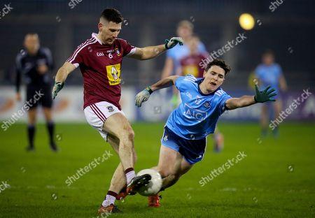 Dublin vs Westmeath. Westmeath's James Dolan with Stephen Smith of Dublin
