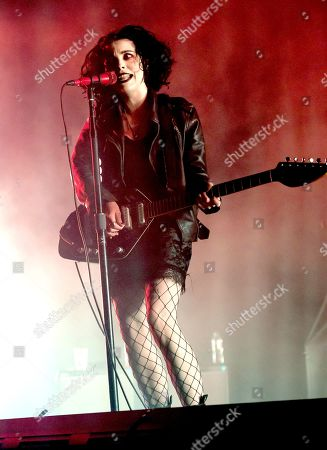 Pale Waves in concert at the O2 Arena, London