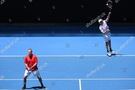 Editorial picture of Tennis Australian Open 2019, Melbourne, Australia - 19 Jan 2019
