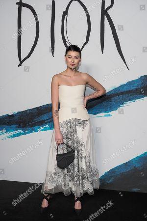 Editorial image of Dior Men show, Photocall, Fall Winter 2019, Paris Fashion Week Men's, France - 18 Jan 2019