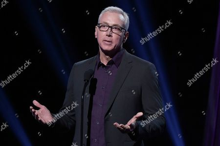 Drew Pinsky speaks onstage during the 2019 iHeartRadio Podcast Awards at the iHeartRadio Theater on Friday, Jan.18, 2019, in Burbank, Calif