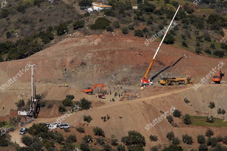 Rescue operation to save child trapped in well, Malaga