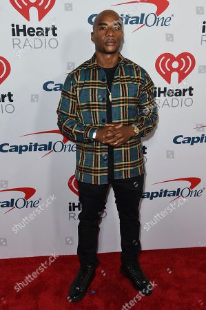 Charlamagne tha God attends the 2019 iHeartRadio Podcast Awards at the iHeartRadio Theater on Friday, Jan.18, 2019, in Burbank, Calif