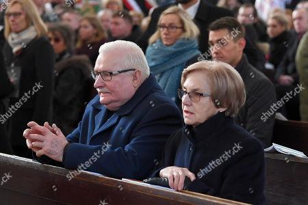 Editorial image of Funeral ceremony of Gdansk Mayor Pawel Adamowicz, Poland - 19 Jan 2019