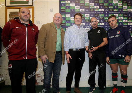 Editorial image of Heineken Champions Cup Round 6, Welford Road, Leicester, England  - 19 Jan 2019