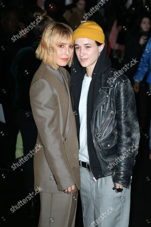 Stock Picture of Noomi Rapace and Agathe Mougin