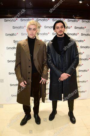 Editorial image of Francesco Smalto presentation, Fall Winter 2019, Paris Fashion Week Men's, France - 15 Jan 2019