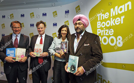 The Man Booker Prize Shortlist Announcement Michael Portillo James Heneage Louise Doughty And Hardeep Singh