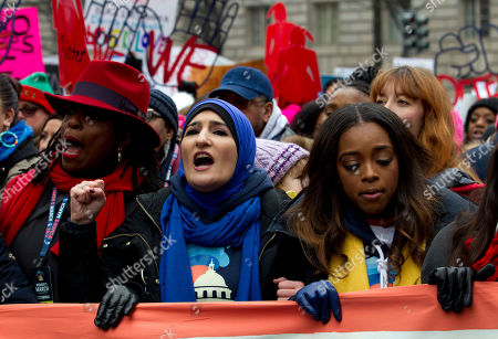 Editorial picture of Womens March New York, Washington, USA - 19 Jan 2019