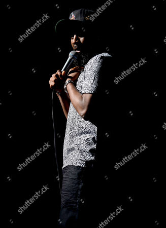 Stock Photo of Karlous Miller performs on stage