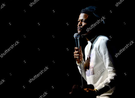 Stock Photo of DC Young Fly performs on stage