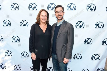 Lucy Fisher, Raymond Mansfield. Lucy Fisher, PGA Co-President and Raymond Mansfield at the 2019 Producers Guild of America Nominees Breakfast at The Skirball Cultural Center, in Los Angeles