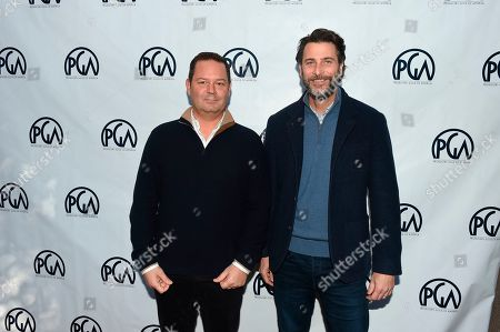 Kevin Messick, Andrew Form. Kevin Messick and Andrew Form at the 2019 Producers Guild of America Nominees Breakfast at The Skirball Cultural Center, in Los Angeles