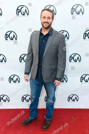 Sean McKittrick at the 2019 Producers Guild of America Nominees Breakfast at The Skirball Cultural Center, in Los Angeles