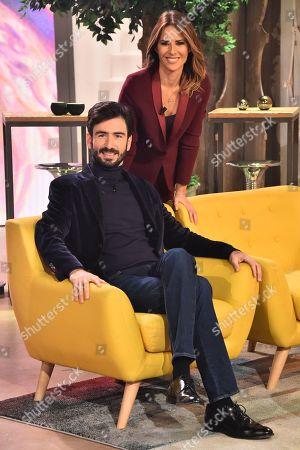 Stock Picture of Luca Rosini, Ingrid Muccitelli