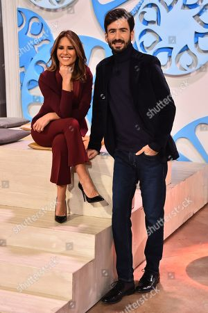 Stock Picture of Luca Rosini, Ingrid Muccitelli