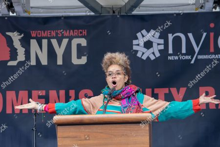 Editorial photo of Women's March, New York, USA - 19 Jan 2019