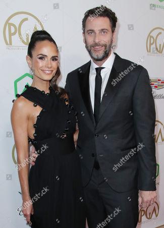 Jordana Brewster and husband Andrew Form