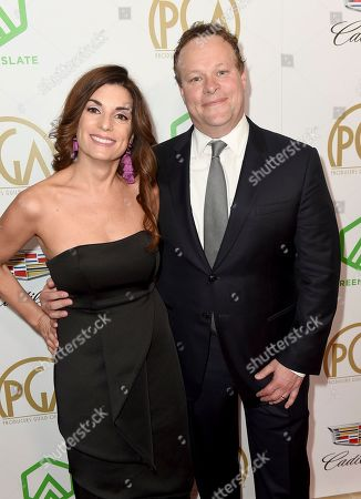Jenny Licht, Chris Licht. Jenny Licht, left, and Chris Licht arrive at the 30th Producers Guild Awards presented by Cadillac at the Beverly Hilton, in Beverly Hills, Calif