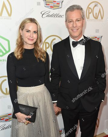 Bradley Fuller, Alexandra Fuller. Bradley Fuller, right, and Alexandra Fuller arrive at the 30th Producers Guild Awards presented by Cadillac at the Beverly Hilton, in Beverly Hills, Calif