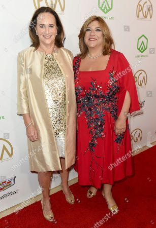 Lucy Fisher, Gail Berman. Lucy Fisher, left, and Gail Berman arrive at the 30th Producers Guild Awards presented by Cadillac at the Beverly Hilton, in Beverly Hills, Calif
