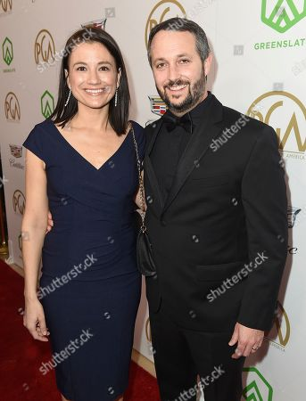 Monique McKittrick, Sean McKittrick. Monique McKittrick, left, and Sean McKittrick arrive at the 30th Producers Guild Awards presented by Cadillac at the Beverly Hilton, in Beverly Hills, Calif