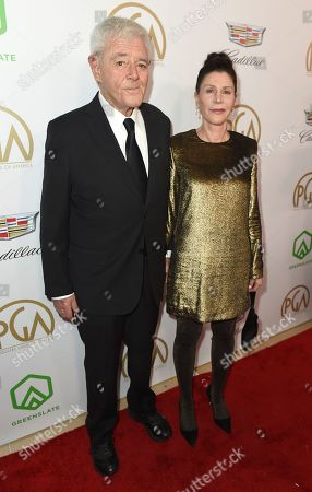 Richard Donner, Lauren Shuler Donner. Richard Donner, left, and Lauren Shuler Donner arrive at the 30th Producers Guild Awards presented by Cadillac at the Beverly Hilton, in Beverly Hills, Calif