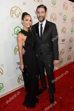 Jordana Brewster, Andrew Form. Jordana Brewster, left, and Andrew Form arrive at the 30th Producers Guild Awards presented by Cadillac at the Beverly Hilton, in Beverly Hills, Calif