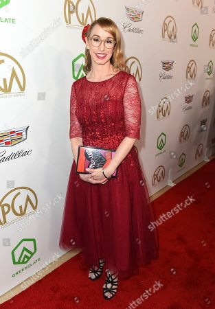 Kira Snyder arrives at the 30th Producers Guild Awards presented by Cadillac at the Beverly Hilton, in Beverly Hills, Calif
