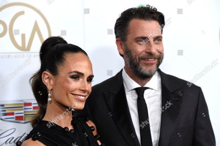 Jordana Brewster, Andrew Form. Jordana Brewster, left, and Andrew Form arrive at the Producers Guild Awards, at the Beverly Hilton Hotel in Beverly Hills, Calif