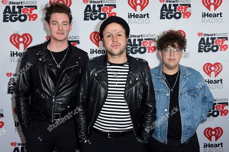 iHeartRadio ALTer EGO concert Arrivals Los Angeles Stock
