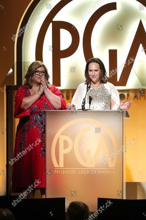 Editorial image of 30th Producers Guild Awards presented by Cadillac - Inside, Beverly Hills, USA - 19 Jan 2019