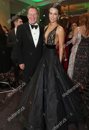 Stock Picture of Gary Lucchesi, Kate Beckinsale. Gary Lucchesi, left, and Kate Beckinsale attend the 30th Producers Guild Awards presented by Cadillac at the Beverly Hilton, in Beverly Hills, Calif