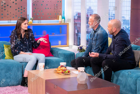 Abigail Lawrie, Tim Lovejoy and Simon Rimmer